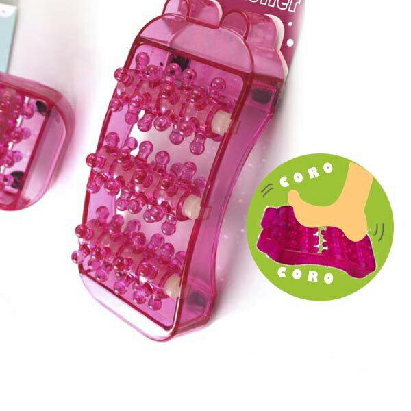 【aife life】可愛小豬按摩器、腿部、腳板、腳底保健按摩器,小巧方便好攜帶,特殊滾輪設計超舒服