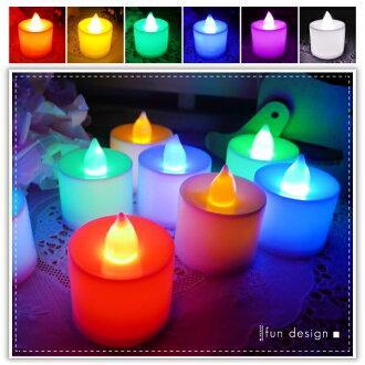 【aife life】單色蠟燭燈-中/LED擬真蠟燭燈/生日蠟燭/小夜燈/居家婚禮佈置/LED燈/情境燈