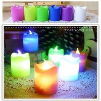 波浪 LED蠟燭燈 小夜燈 居家婚禮佈置
