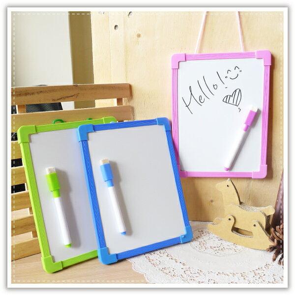 【aife life】尼可熊小白板附筆/兒童單面白板留言板寫字板塗鴉板繪畫板