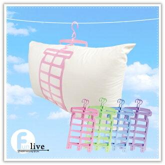 【aife life】可調整式曬枕頭架,曬衣架掛鉤設計,曬枕頭超方便,大小枕頭、枕心都可以用!!