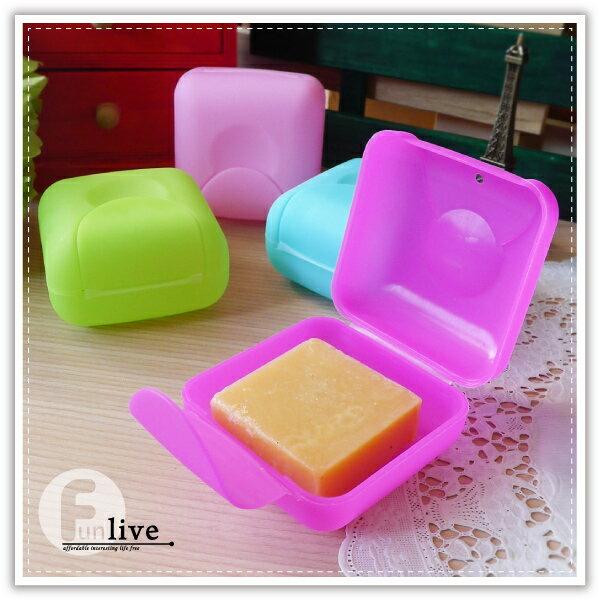 【aife life】旅行皂盒-小/出差旅遊密封帶蓋肥皂盒/便攜香皂盒/有鎖扣防水防漏肥皂盒/肥皂盤