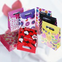【aifelife】(大)可愛黏式禮物袋禮品袋飾品袋,讓妳你送禮方便不失禮,生日、情人節、各種節慶最佳禮贈品
