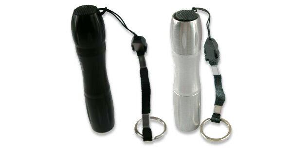【aife life】戰術迷你葫蘆型曲線正3Wled手電筒,釣魚巡守隊夜遊保全警用