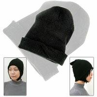 【aife life】型男潮女必備,擁有自我風格,舒服百搭黑色毛帽~男女皆可使用喔