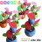 【aife life】日韓熱賣可愛設計蘋果花、小花桌上型電風扇/迷你風扇,可用電池或USB供電,風力強速,好涼快 0