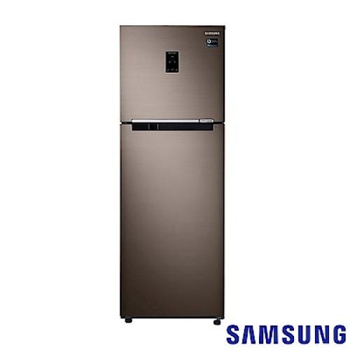 【領券95折無上限】110/5/30前回函抽吸塵器 SAMSUNG三星 RT32K553FDX/TW 奢華棕 323L 雙循環雙門冰箱