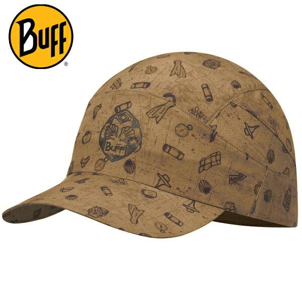 Buff可捲收健行帽高防曬抗UV軟式摺疊帽路跑馬拉松健行登山117224南方賢者聖雅各之路