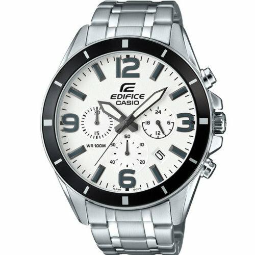 CASIO EDIFICE都會時尚錶/黑/EFR-553D-7BVUDF