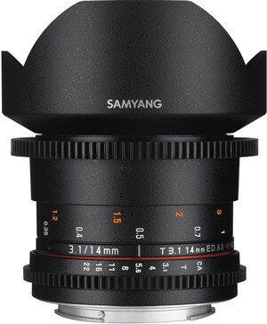 Samyang鏡頭專賣店: 14mm/T3.1 ED ASPH超廣角 for Canon EOS(微電影 鏡頭 5D 5D2 5D3 6D 7D 1D4)