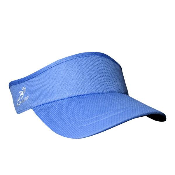 騎跑泳者-HEADSWEATS汗淂(全球運動帽領導品牌)VelocityVisor中空遮陽帽淺藍色