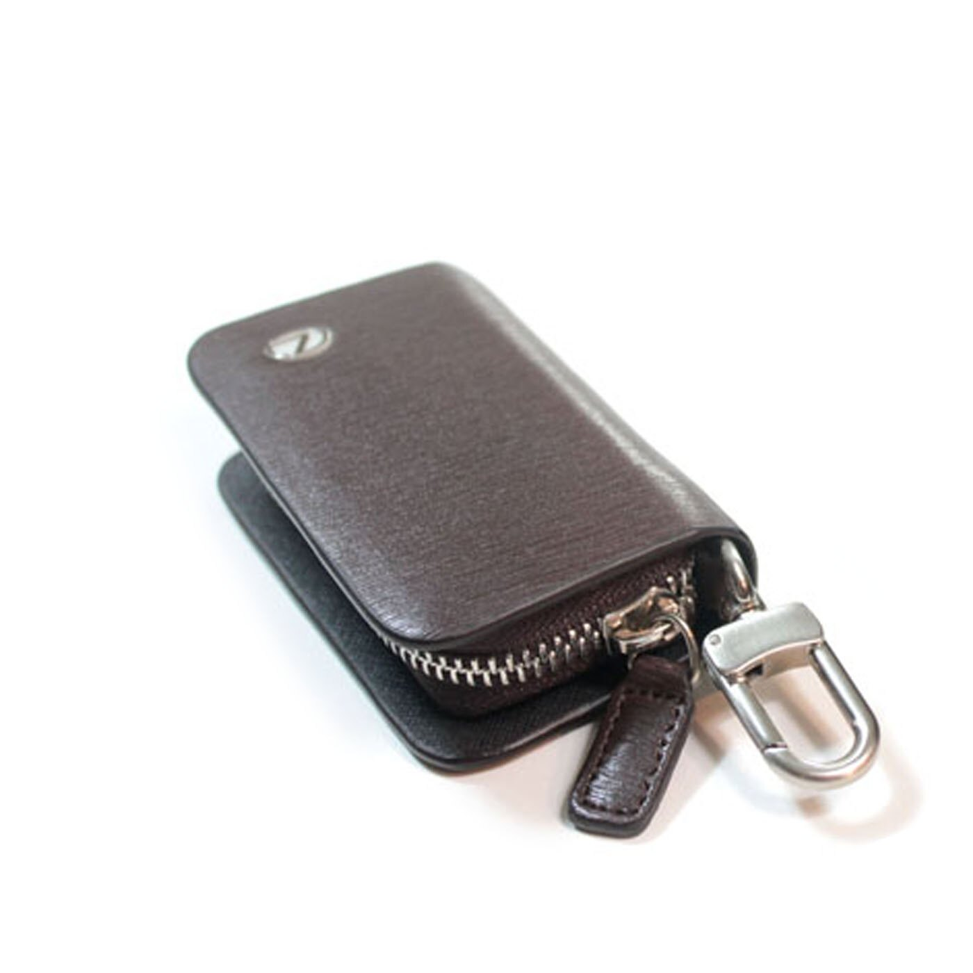 Lexus 凌志 VINTAGE真皮汽車鑰匙包款 咖啡色 車鑰匙扣 零錢包