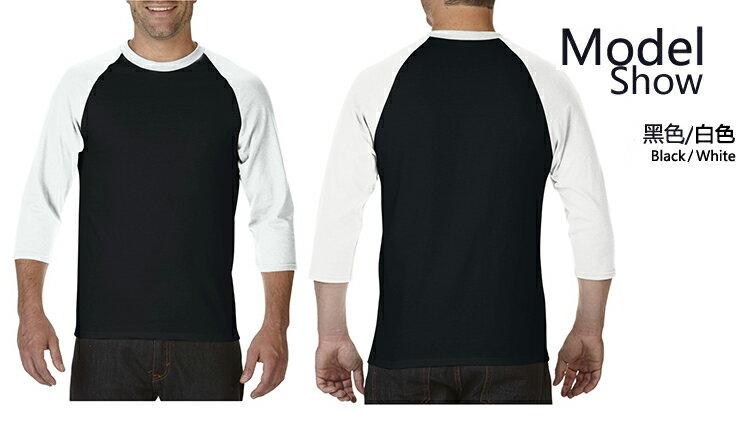 【GILDAN】亞規七分袖棒球T恤 76700系列 2