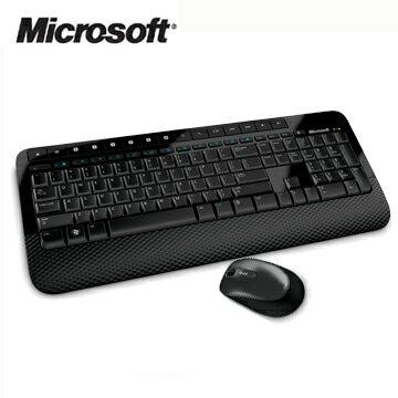 微軟 Microsoft無線滑鼠鍵盤組2000 - 黑色★★★全新原廠公司貨含稅附發票★★★