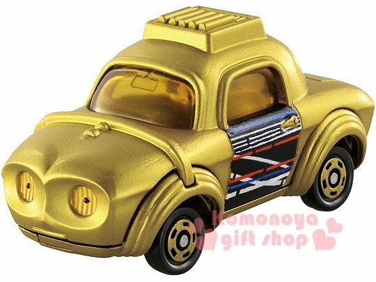 〔小禮堂〕星際大戰 TOMICA小汽車《金.C-3PO.黑盒裝》STAR WARS系列