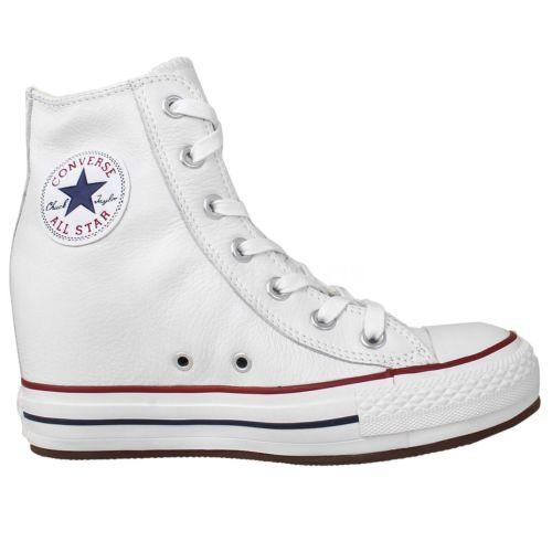 《限時特價↘7折免運》Converse Chuck Taylor All Star 男鞋 高筒 休閒 內增高 白 【運動世界】 544927C