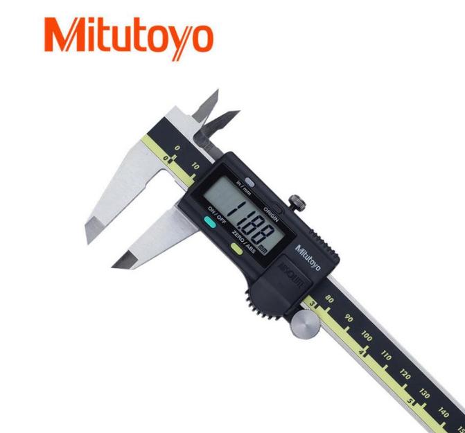 Mitutoyo 三豐數顯卡尺0-150-200-300MM高精密游標卡尺
