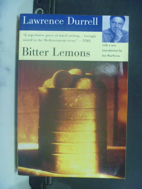 ~書寶 書T2/原文小說_JLA~Bitter Lemons_Durrell