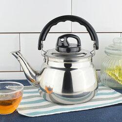 泉光牌 笛音(2L)茶壺18漲 (熱水壺 開水壺 不鏽鋼 台灣製)