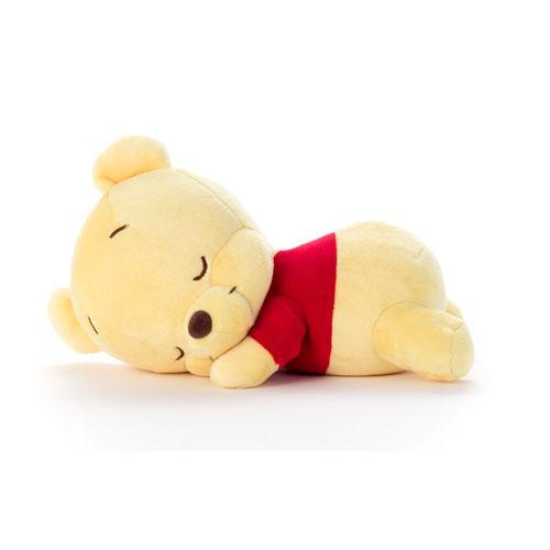 日本代購預購 迪士尼 小熊維尼 維尼熊 趴睡姿勢 S號 娃娃玩偶抱枕 747-453