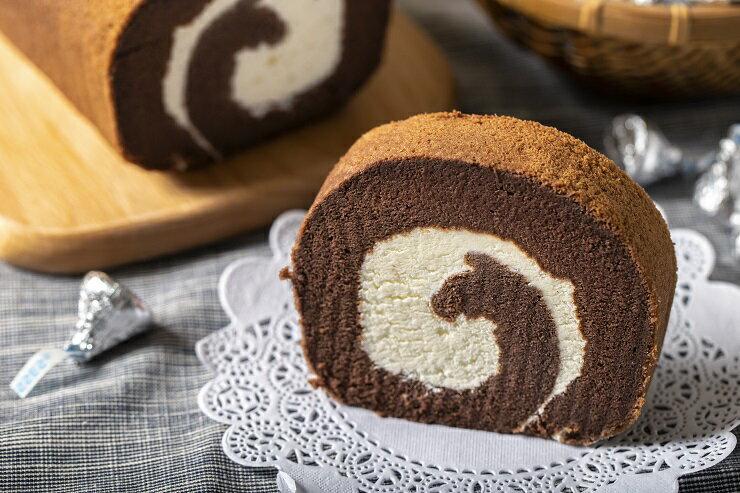 ❤可可生乳卷 ❤巧克力 蛋糕  ❤人氣團購甜點 ❤伴手禮最佳選擇  540g 1