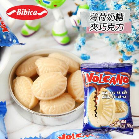 越南Bibica薄荷奶糖夾巧克力100g薄荷糖巧克力糖糖果【N600030】