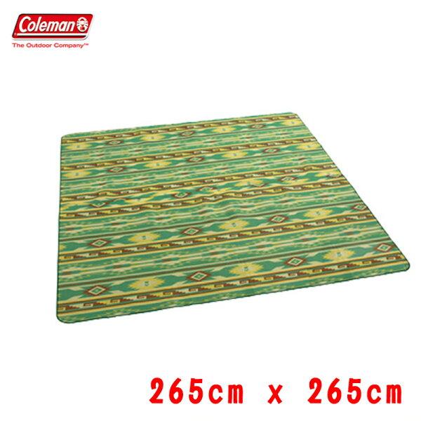 【露營趣】限量特價ColemanCM-7152防潮地布265*265cm防潮墊地布露營墊野餐墊