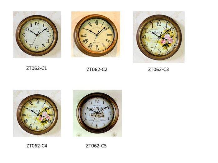 鐵藝復古掛鐘