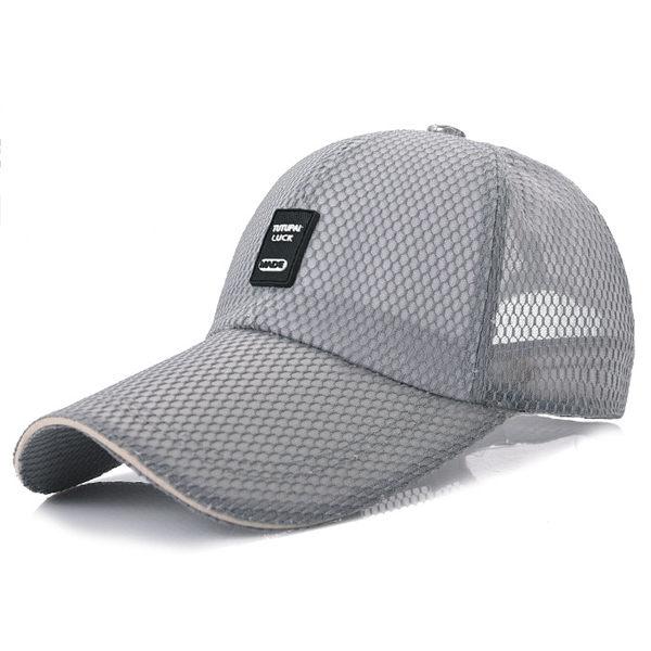 PS Mall 大簷遮陽帽11cm戶外網帽子【G1007】 0