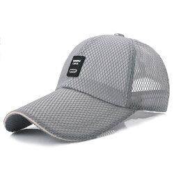 PS Mall 大簷遮陽帽11cm戶外網帽子【G1007】