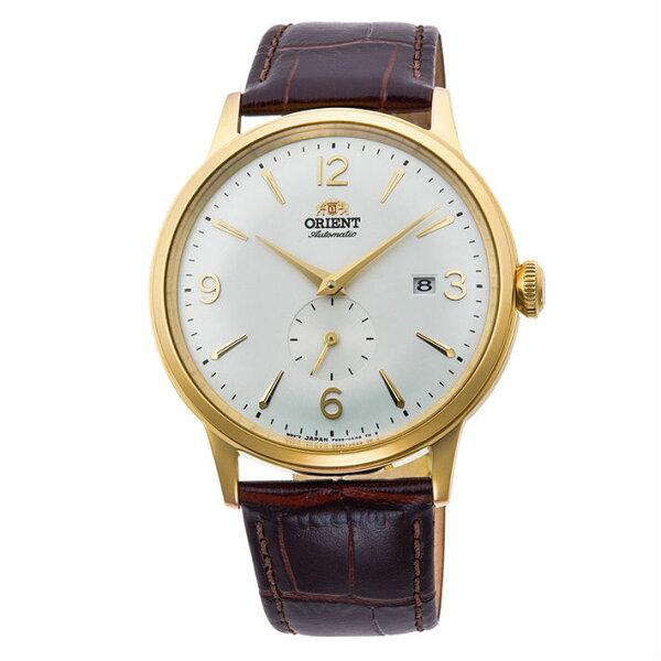 Orient東方錶(RA-AP0004S)DATEⅡ復古小秒針機械錶白面40.5mm