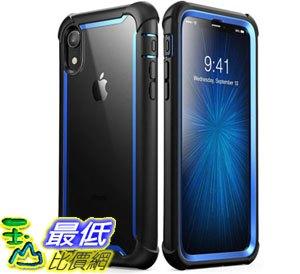 [7美國直購] 手機保護殼 iPhone XR Case, i-Blason [Ares] Full-Body Rugged Clear Bumper Case Built-in Screen