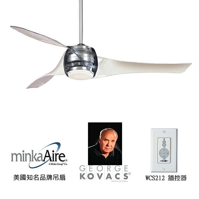 <br/><br/>  [top fan] MinkaAire Artemis 58英吋吊扇附燈(F803-TL)亮鎳色<br/><br/>
