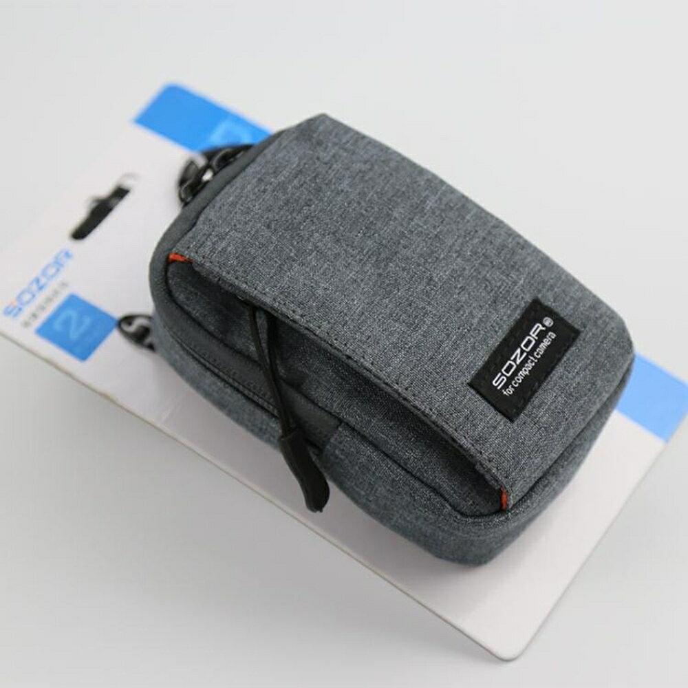 振興 sozor數碼相機包理光GR2 LX10佳能G7X2索尼RX100M6M5攝影袋套斜挎 父親節禮物 2