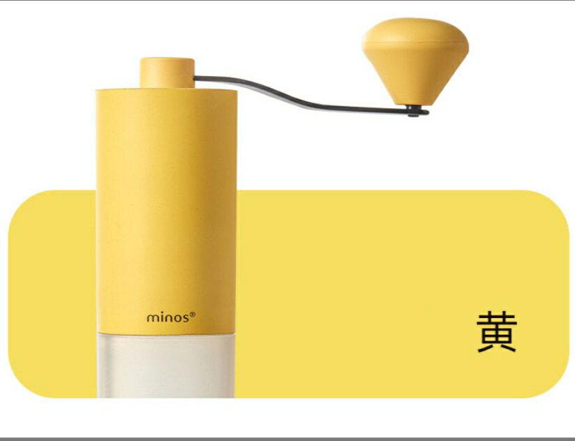 金時代書香咖啡 Minos HG92 手搖磨豆機 黃色  Minos-HG92-YL