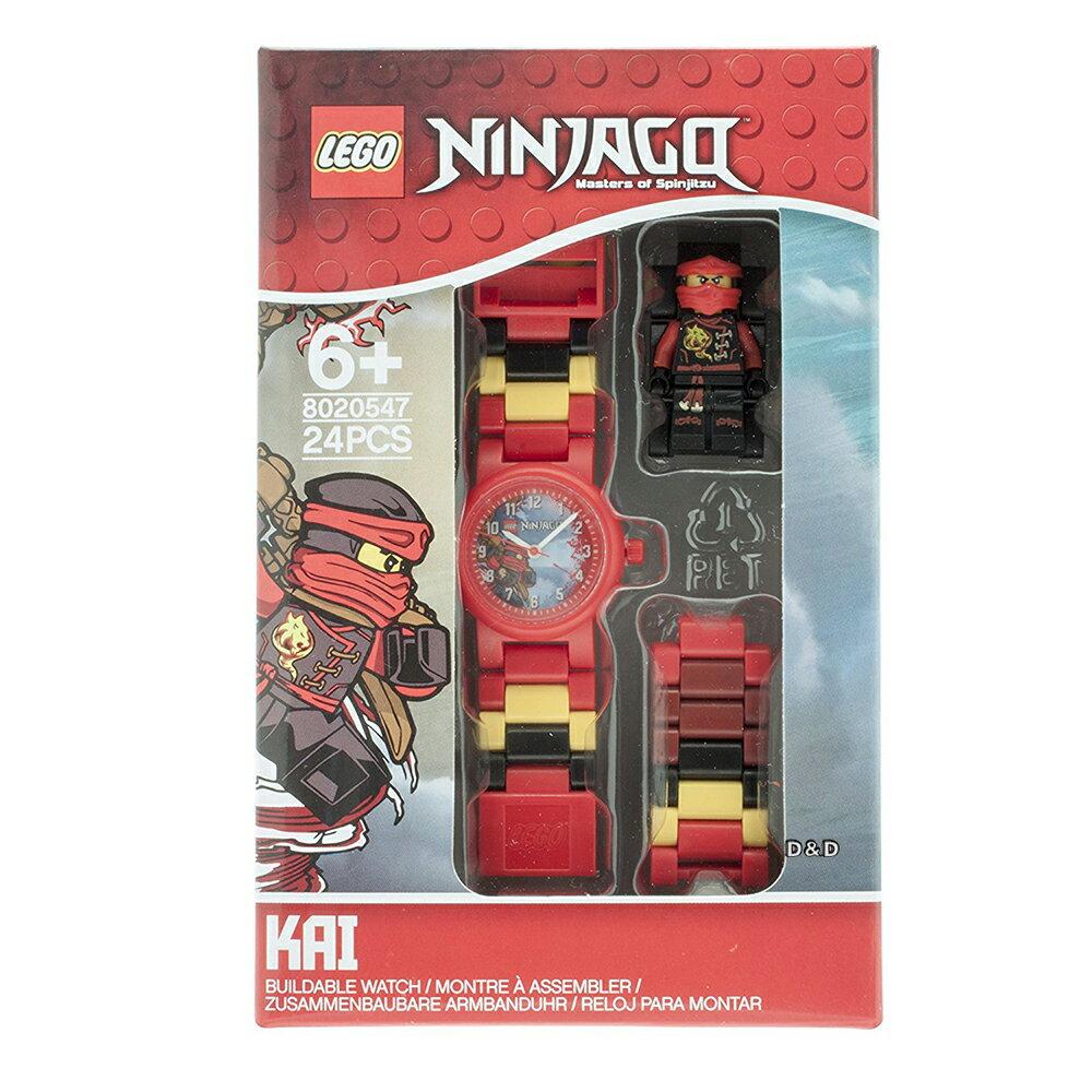 免運費【 樂高積木 LEGO 】兒童手錶 - 旋風忍者系列 赤地 - 紅忍者