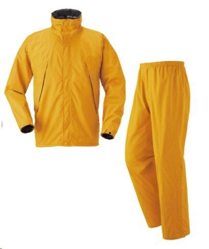 ├登山樂┤日本 Mont-Bell HDBR RAIN WEAR 男款全套雨衣 - 金橙 # 1128297