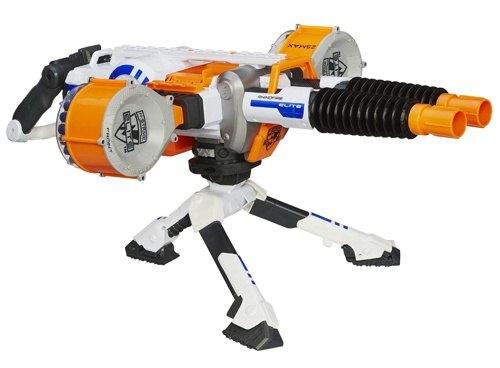 《 NERF 樂活打擊 》雙重強火連發機關槍