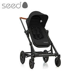 【Seed Papilio】丹麥 頂級尊爵黑 嬰兒雙向避震手推車 / 嬰兒車 -  爵士黑