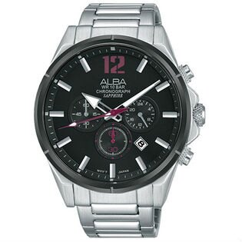 ALBAVD53-X297D(AT3D31X1)活力型男計時腕錶43mm