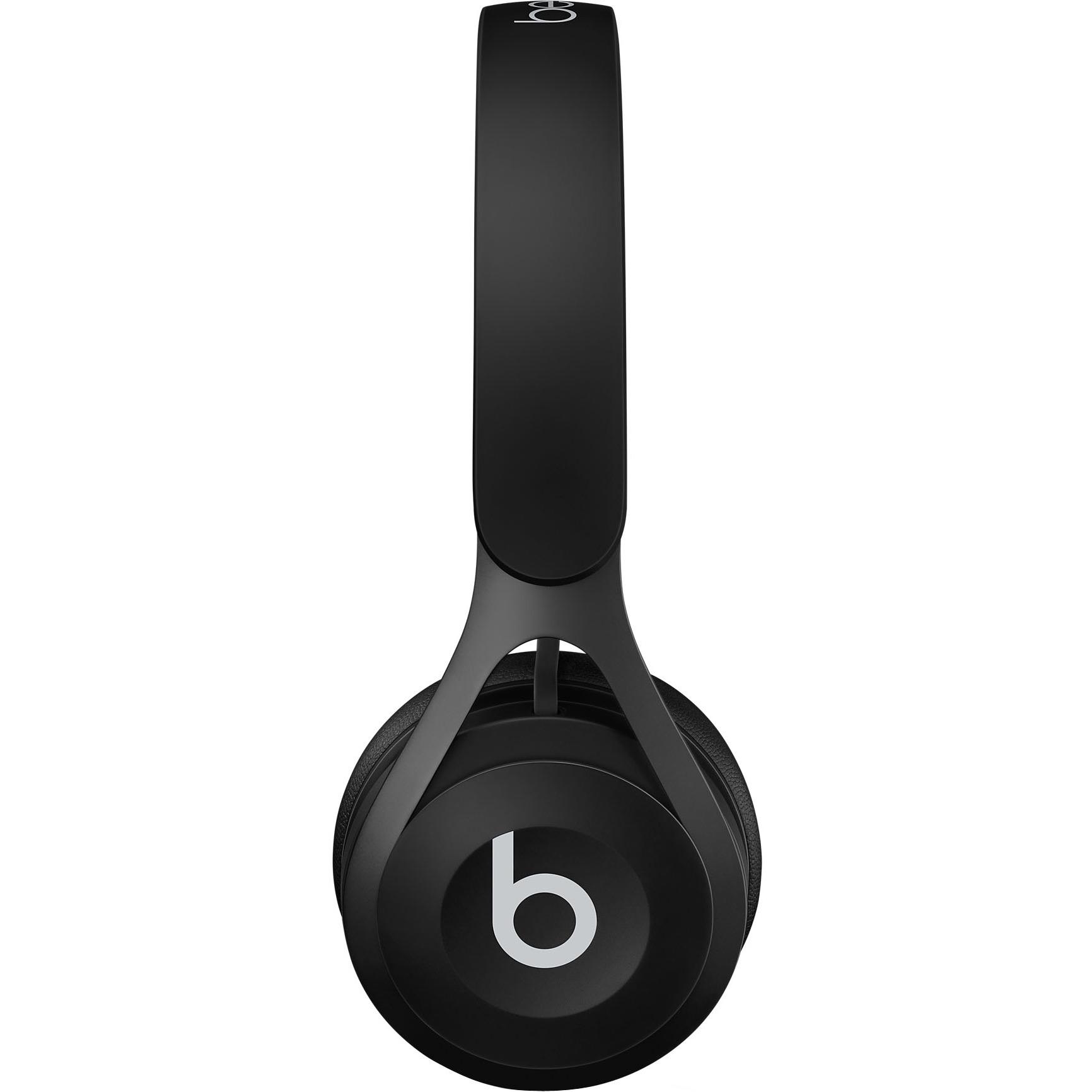 Beats by Dr. Dre EP On-Ear Headphones - Black - Stereo - Black - Mini-phone - Wired - Over-the-head - Binaural - Supra-aural 2