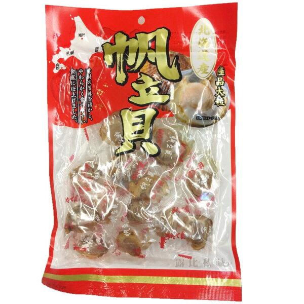 露比私藏:【日本代購】北海道產極品大粒帆立貝鮮甜香味干貝150g