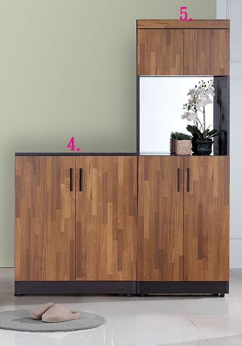 【尚品傢俱】JF-294-1 尚恩2.7尺x3雙色鞋櫃~另有2X6尺,2.7尺