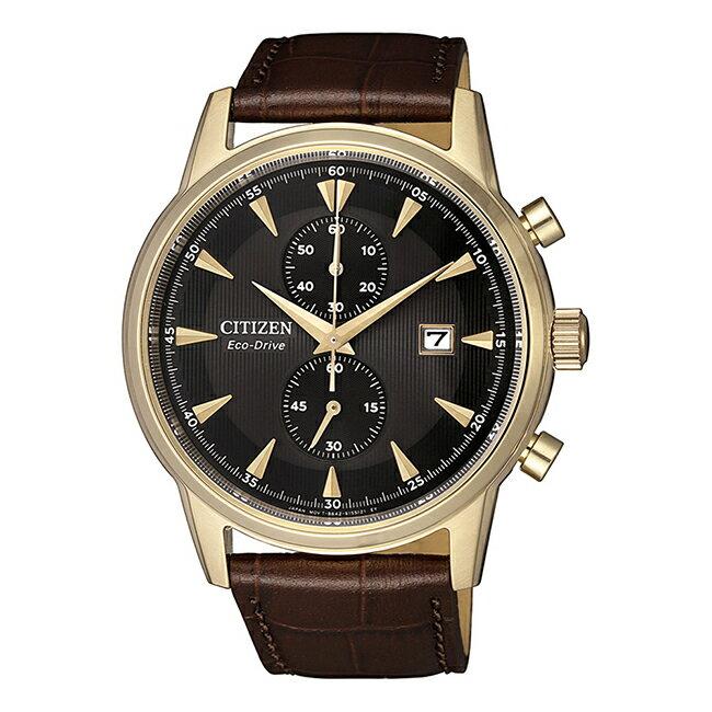 富茂鐘錶 CITIZEN Eco-Drive 光動能時尚計時腕錶 43mm /  CA7008-11E
