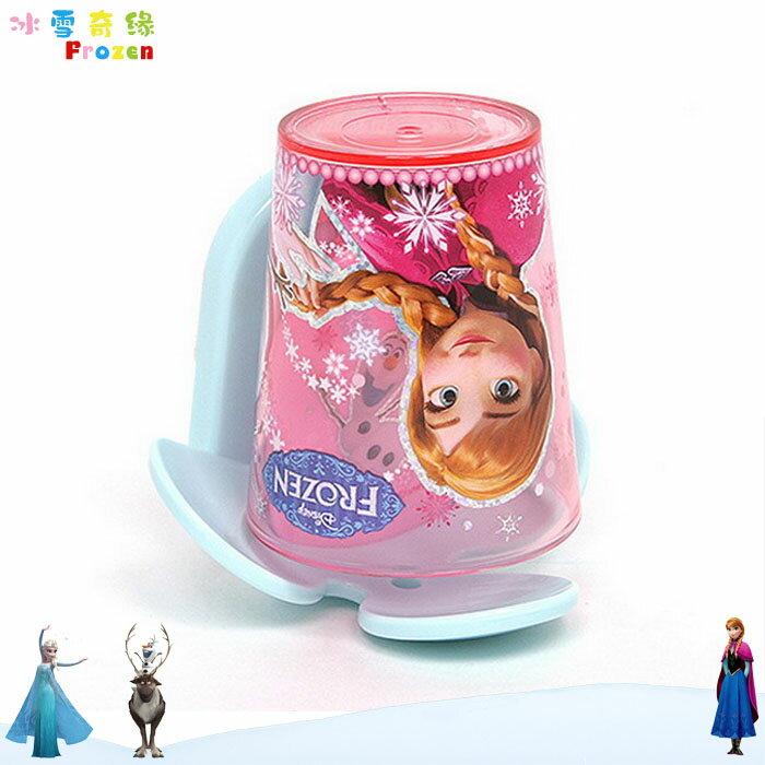 大田倉 日本進口正版 迪士尼 Frozen冰雪奇緣艾莎安娜 兒童漱口杯 牙刷杯 牙刷架牙刷置盒 044374
