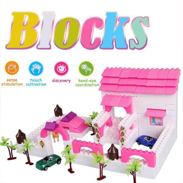 Kid Plastic Building Block Set Preschool Children Playing Toys 1