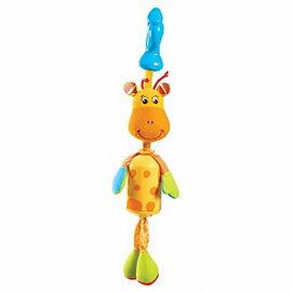 【淘氣寶寶●同價位商品 第二件 66折】Tiny Love 夾偶-長頸鹿風鈴【隨身攜帶並可掛在嬰兒推車、提籃汽座及嬰兒床上】