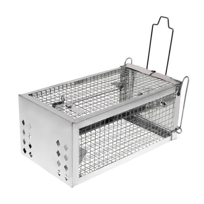 One Door Sensitive Pedal Mousetrap Cage 4