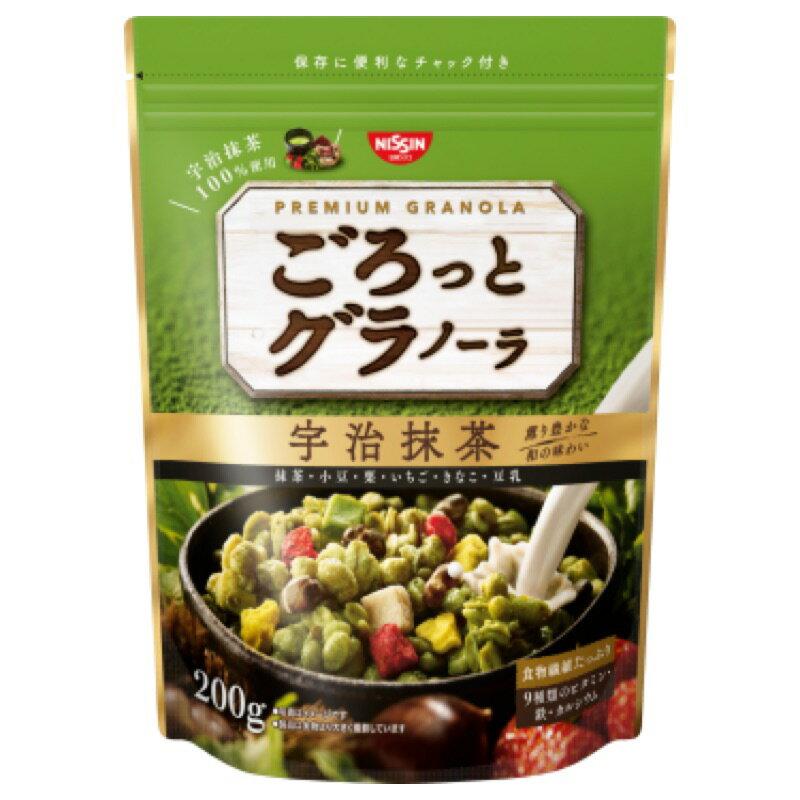 日清Cisco 綜合抹茶穀片200g/早餐麥片/4901620160210