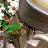 亮銀黑深石釉招財轉運平口小椰盆流水 居家辦公室聚寶盆風水擺設 鶯歌手拉胚陶瓷窯燒收藏品庭園陽台造景【築巢傢飾】 4